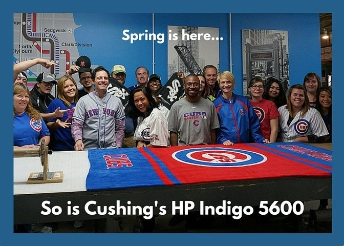 Springing Forward 1 Printed on the HP Indigo 5600