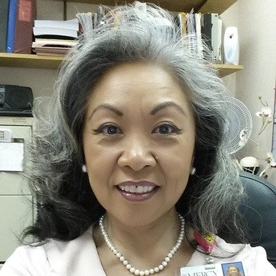 Happy Printing Services Customer Marlene Lee of Mercy Hospital