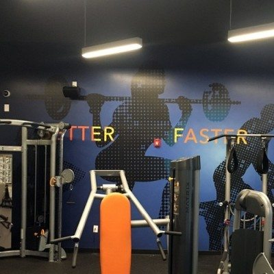Weight Room Wall Graphics
