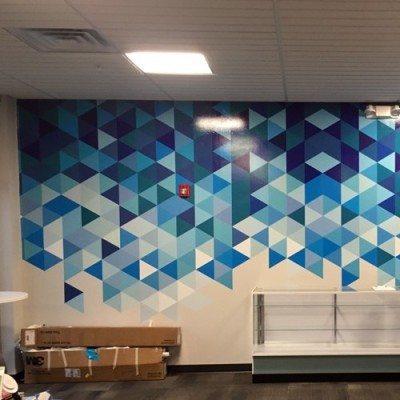 Wall Graphics Installation
