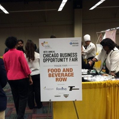 Diversity Fair Signage at Conference Table