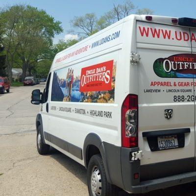 Uncle Dan's Vehicle Wrap