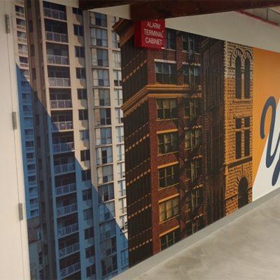 Yelp City Wall Graphics