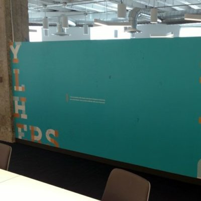 Privacy Film Printed with Color