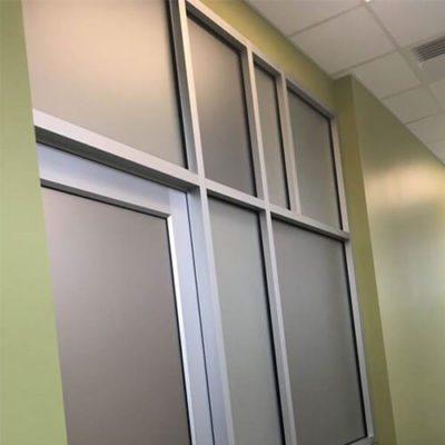Privacy Film in Healthcase Facility