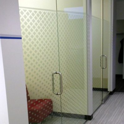 office door designs frosted glass privacy film installed at textura photos courtesy of hedrich blessing for windows decorative or frosted decals cushing
