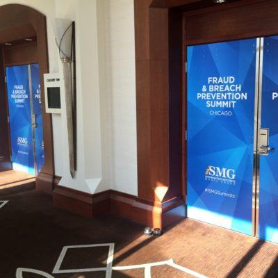 Door Graphics for Event