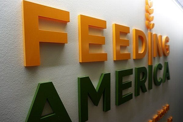 Dimensional Lettering at Feeding America