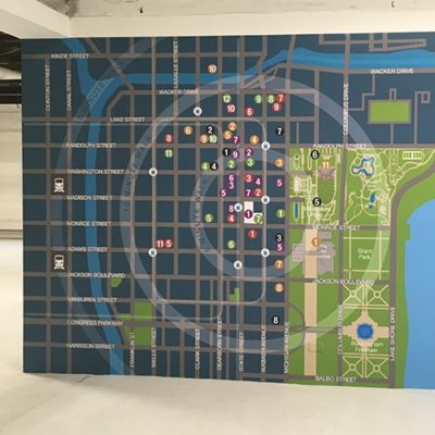 Neighborhood Amenities Wall Graphics