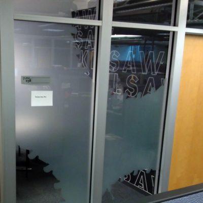 Merveilleux Custom Cut Privacy Vinyl For Unique Conference Rooms
