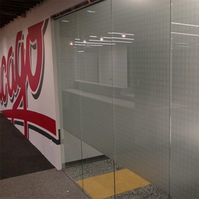 Privacy Film and Wall Graphics Installed at Yelp