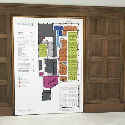 Sullivan Center Display Graphics