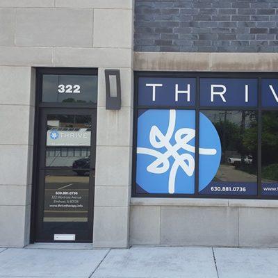 Thrive Window Graphics