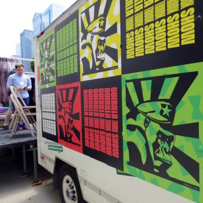 AIGA Event Truck Graphics