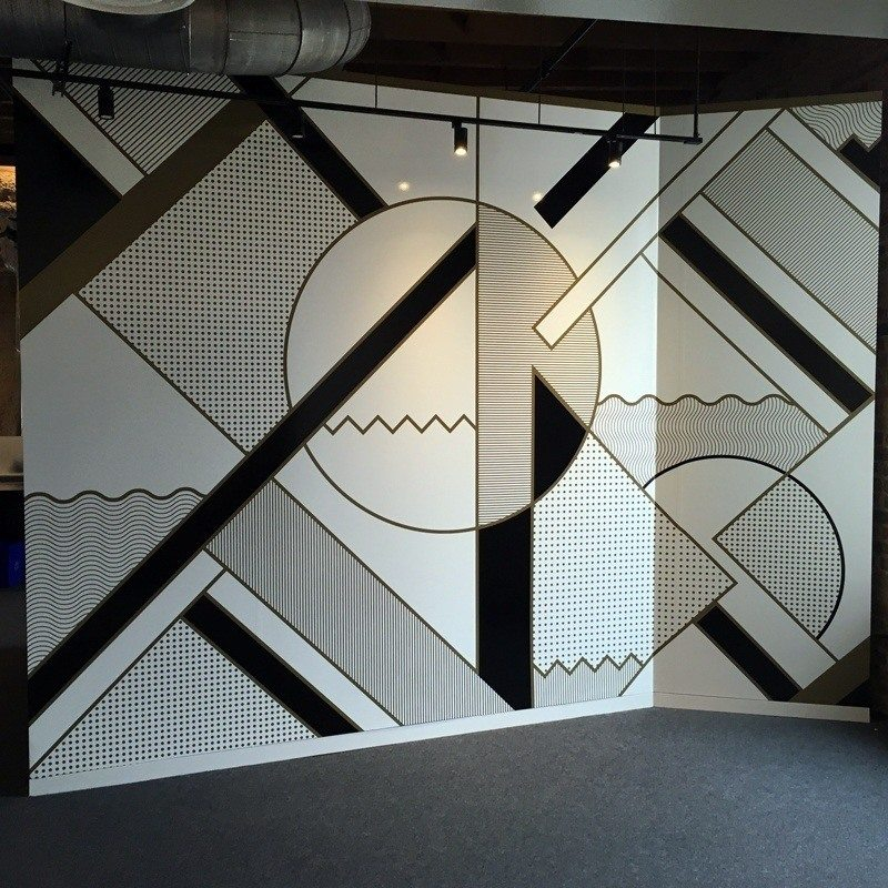 Wall-Graphic-Geometric-Shapes