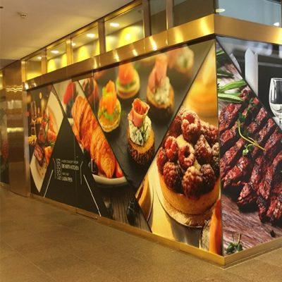 Retail Lobby Wall Graphics