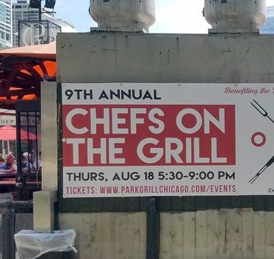 Event Banner at Park Grill