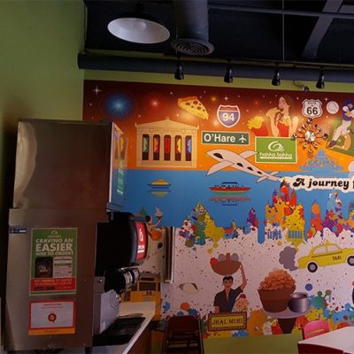 Hakka Bakka Rolls Restaurant Graphics