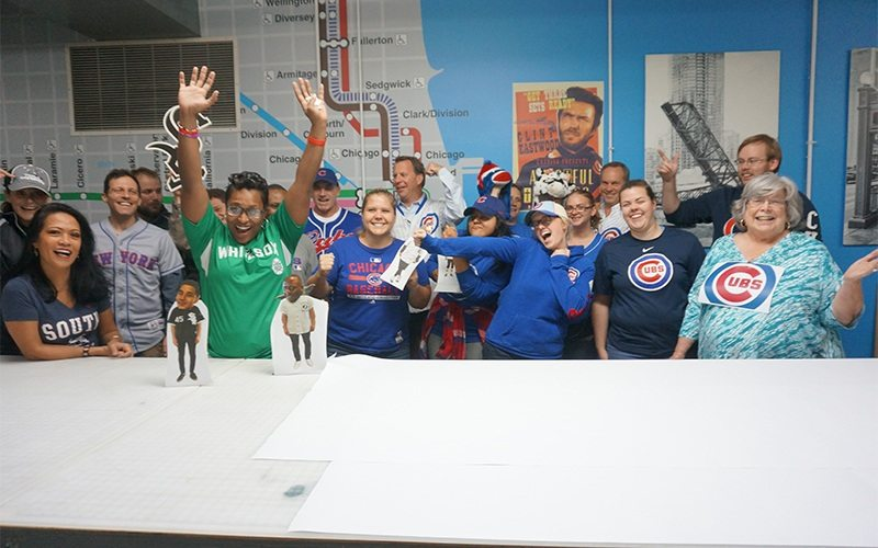 From concept to construction and beyond 11 baseball fun group photo