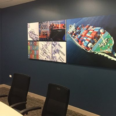 Magid Glove Conference Room Graphics