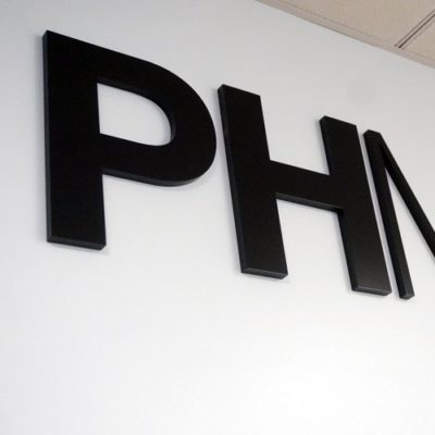 PHMG Dimensional Lettering