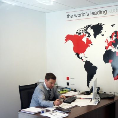 PHMG Office Wall Graphics