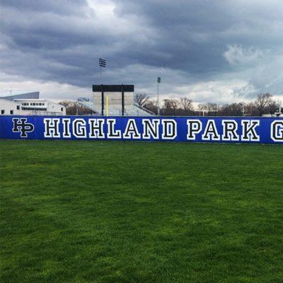 Highland Park Stadium Banners