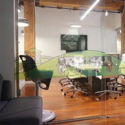 Transparent Window Graphics at Nurture Life