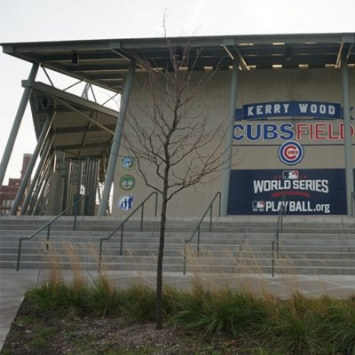 Kerry Wood Field World Series Banner