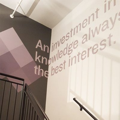Wyzant Stair and Quote Graphic