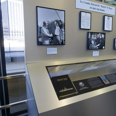Butch O'Hare Display Case