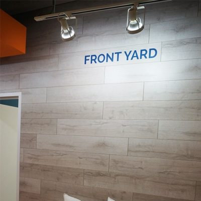 Dimensional Lettering Installed in Scout Exchange Waiting Area.