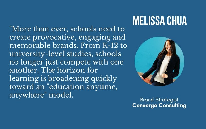 Why School Branding Is Important and Tips To Pass the Test 7 Melissa Chua Quote