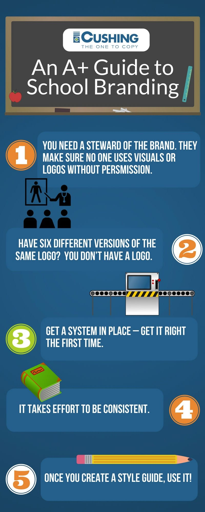 Why School Branding Is Important and Tips To Pass the Test 5 School Branding Infographic