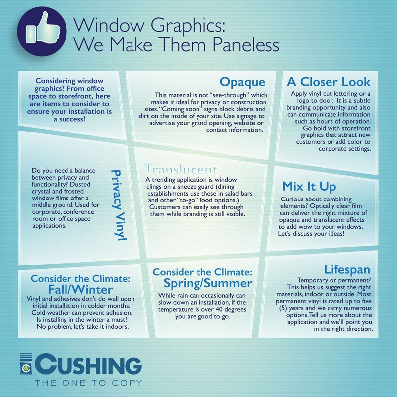 Window Graphic, Decal & Sticker Tips