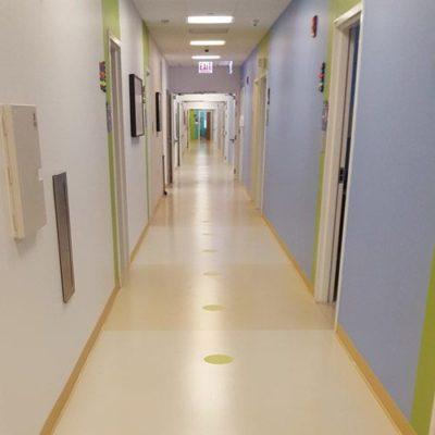 Floor Wayfinding in Hospital