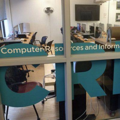 Interior Window Graphics Provide Direction