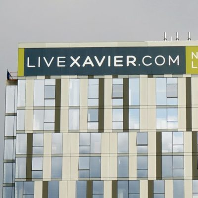 Xavier Large For Lease Banner