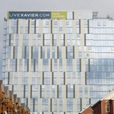 Xavier Building Banner