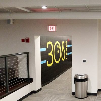 Bowling Alley Entrance Wall Graphics
