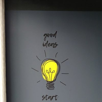 Good Ideas Wall Graphic