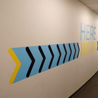 Here Custom Wall Graphics