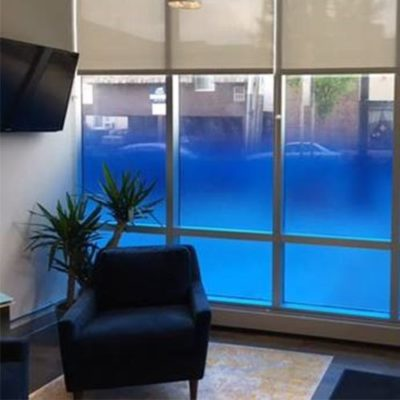 Lobby Window Graphics Privacy Film