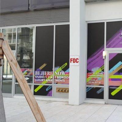 Midtown Five Miami Window Graphics