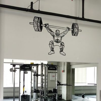 Gym Lifter Wall Graphic