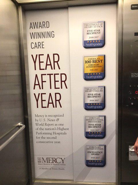 Elevator Hospital Graphics