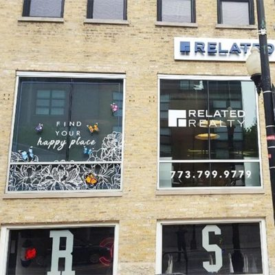 Window Graphics Installed in Bucktown