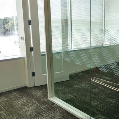 CBRE Meeting Area Window Graphics