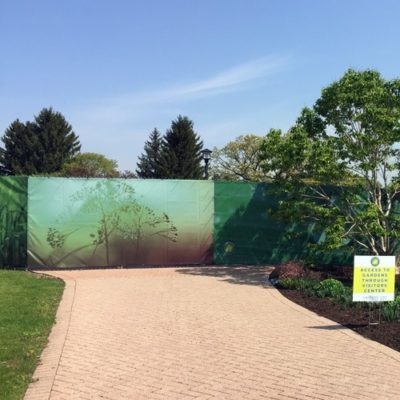 Mesh Fence Graphics