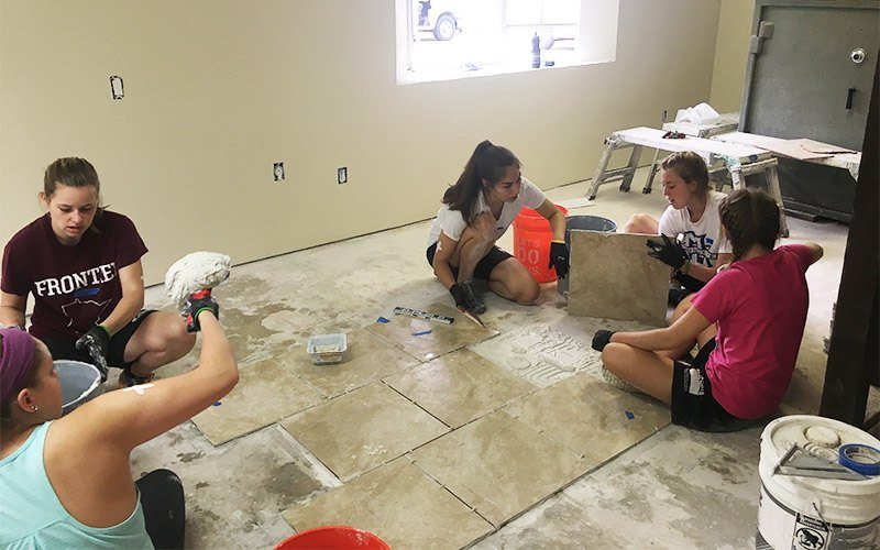 Giving Back In The Big Easy 7 Group Tiling